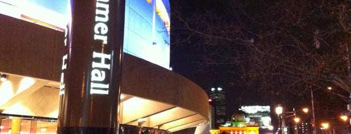 Hamer Hall is one of arts ○△♡.