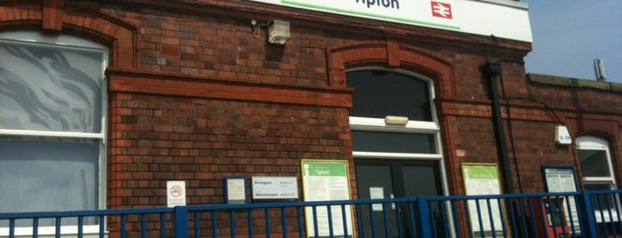 Tipton Railway Station (TIP) is one of Awesome UK.