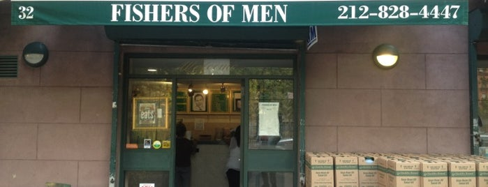 Fishers of men is one of Grab-n-Go/Food Cart.
