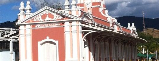 Estação Ferroviária de Mariana is one of Viagem: Réveillon 2019-2020.