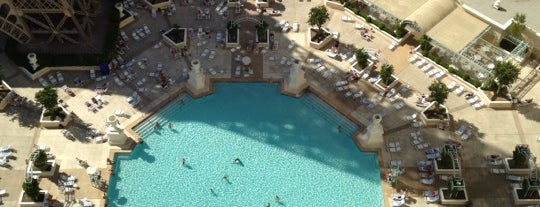 Soleil Las Vegas Pool is one of Lugares guardados de Naye.