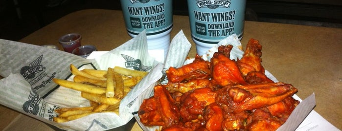 Wingstop is one of Lindavas.