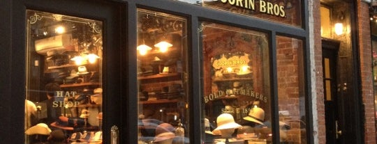 Goorin Bros. Hat Shop - West Village is one of NYC Men's Shops.