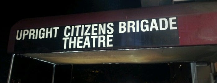 Upright Citizens Brigade Theatre is one of NYC I see.