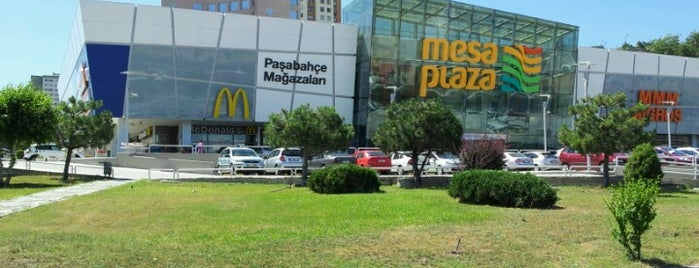 Mesa Plaza is one of Malls of Ankara.