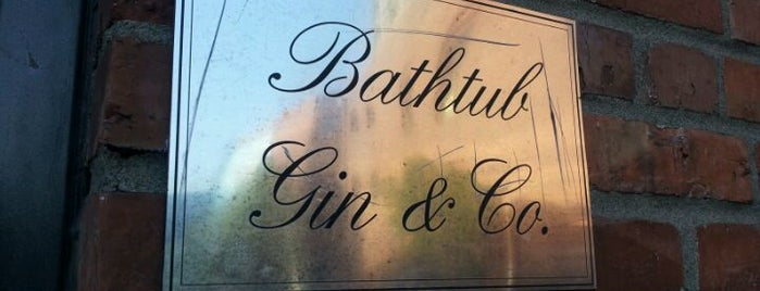 Bathtub Gin & Co. is one of Seattle.