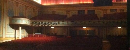 Strand-Capitol Performing Arts Center is one of Tempat yang Disukai LIVE.