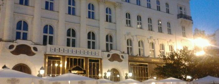 Vörösmarty tér is one of Budapest City Guide.