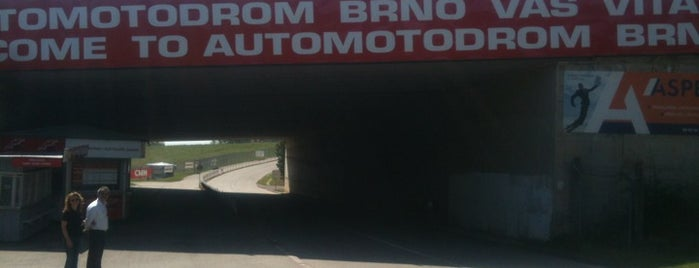 Automotodrom Brno is one of MotoGP Circuits ( Racetracks ).
