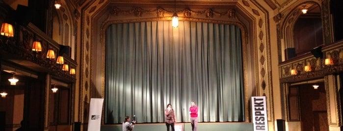 Kino Lucerna is one of praha umělecká / artistic prague.