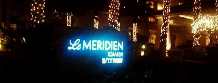 Le Méridien Xiamen is one of Locais curtidos por Lina.