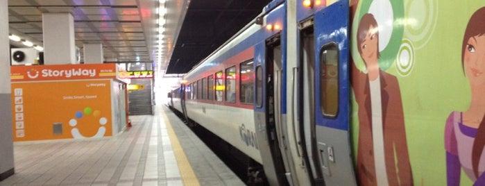 ヨンサン駅 - Korail is one of 서천.