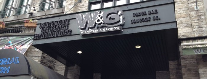 Wienstein & Gavino's is one of Lugares guardados de Naomi.