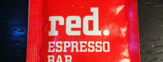 Red. Espresso Bar is one of Moscow!.