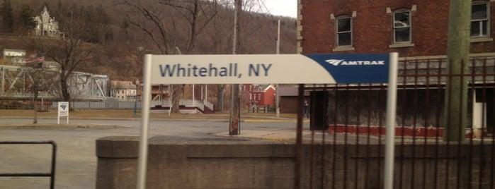 Whitehall Amtrak Station is one of Locais salvos de Robert.