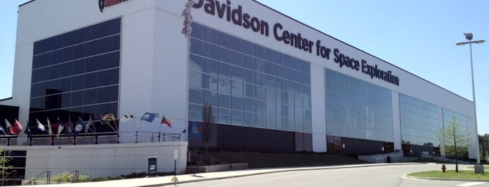 Davidson Center for Space Exploration is one of zoom.