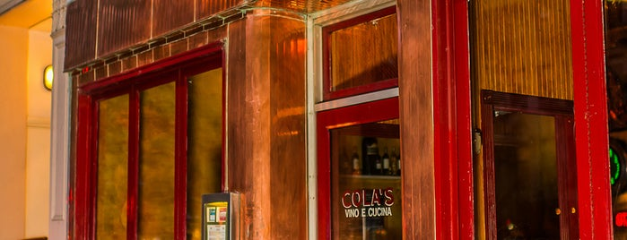 Cola's is one of Manhattan.