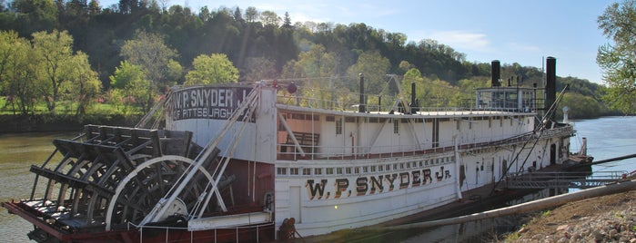 Ohio River Museum is one of Favorites: Mid-Ohio Valley OH/WV.