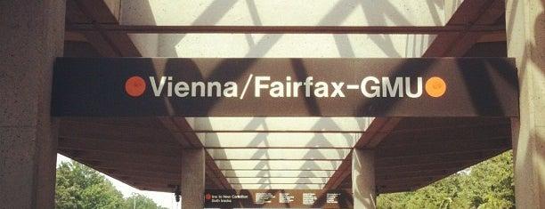 Vienna/Fairfax-GMU Metro Station is one of Frey'in Beğendiği Mekanlar.