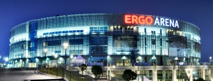 Ergo Arena is one of Lugares favoritos de Tomek.