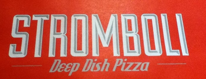 Stromboli Deep Dish Pizza is one of Locais curtidos por Daniel.