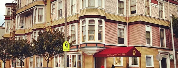Queen Anne Hotel is one of SF Favorites.