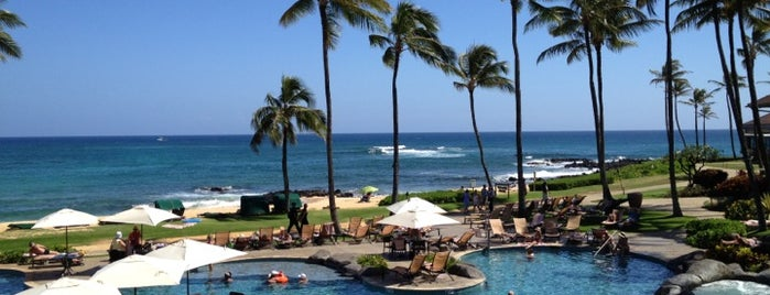 Sheraton Kauai Resort is one of Locais curtidos por Luke.