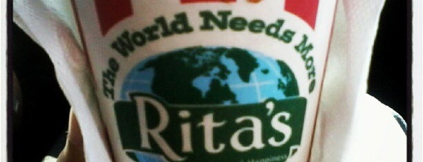 Rita's Italian Ice & Frozen Custard is one of Posti che sono piaciuti a Xenia.