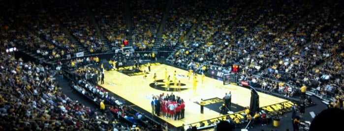 Carver-Hawkeye Arena is one of Big Ten Men's Basketball Arenas.