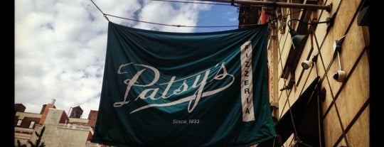 Patsy's Pizzeria is one of NYC with Bentley.
