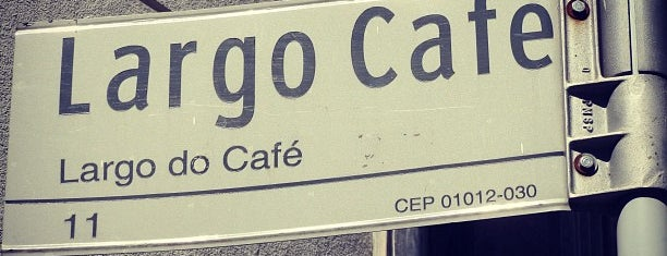 Largo do Café is one of Fernandoさんのお気に入りスポット.
