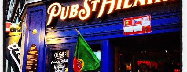 Le Pub Saint-Hilaire is one of Locais curtidos por Olivier.