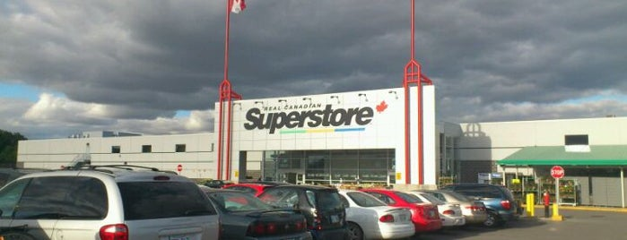 Real Canadian Superstore is one of Andre's Liked Places.