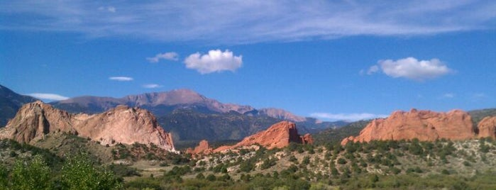 Garden of the Gods Visitor Center is one of Tempat yang Disukai icelle.