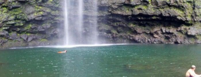 Hanakapi'ai Falls is one of Kaua'i, HI.