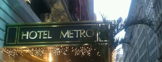 Hotel Metro is one of Dicas de Nova York.