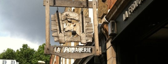 La Fromagerie is one of London favourites.