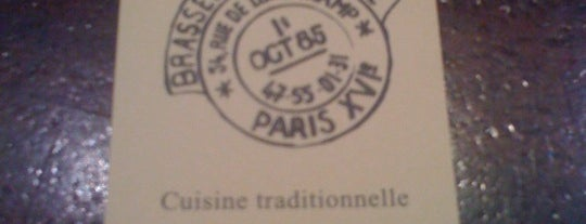 Brasserie de la Poste is one of Paris.