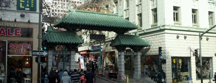 Chinatown Gate is one of San Francisco.