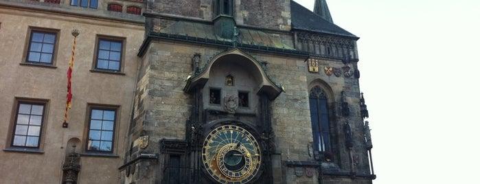 Relógio Astronômico de Praga is one of Prague.