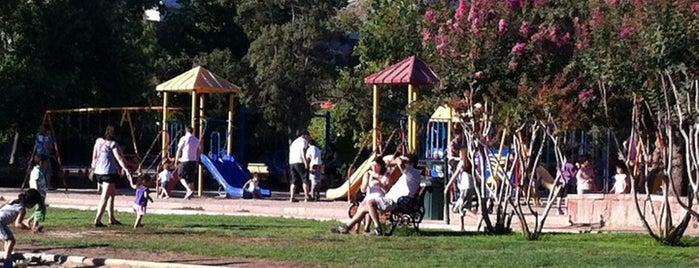 Juegos del Parque Araucano is one of Tempat yang Disukai Catherine.