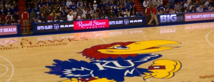 Allen Fieldhouse is one of Great Sport Locations Across United States.
