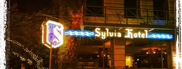 The Sylvia Hotel is one of Happy Hour.
