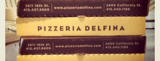 Pizzeria Delfina is one of The 8 Best Pizzas in the Bay Area.