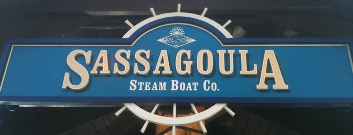 Sassagoula Steamboat Co. is one of Transportation & Misc Disney World Venues.