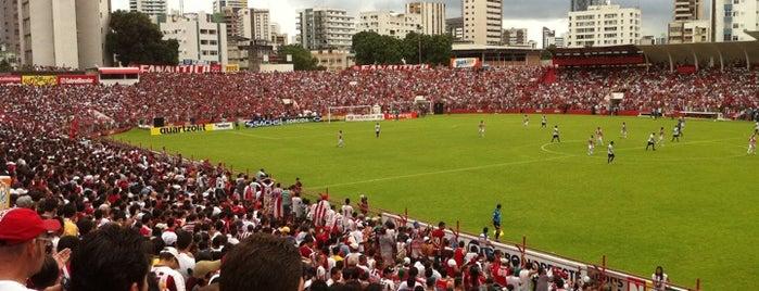 Estádio Eládio de Barros Carvalho is one of Centros sociais ..