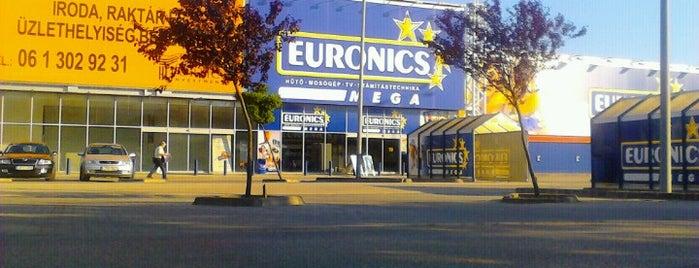 Euronics MEGA is one of สถานที่ที่ Andrea ถูกใจ.