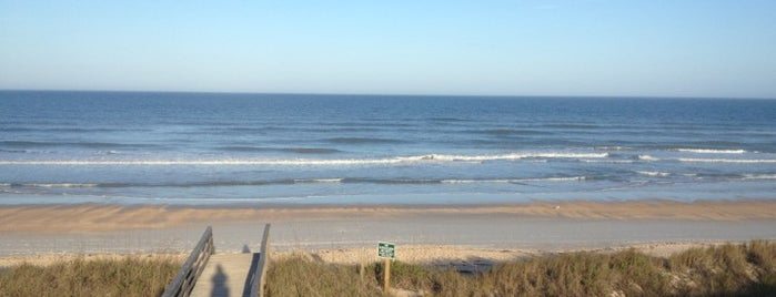 Ponte Vedra Middle Beach Access is one of Lugares favoritos de Elle.