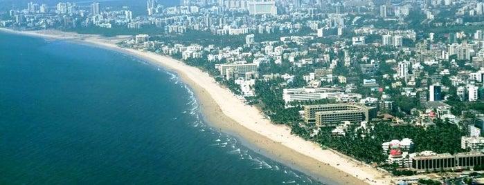 Juhu Beach is one of Mumbai, India.