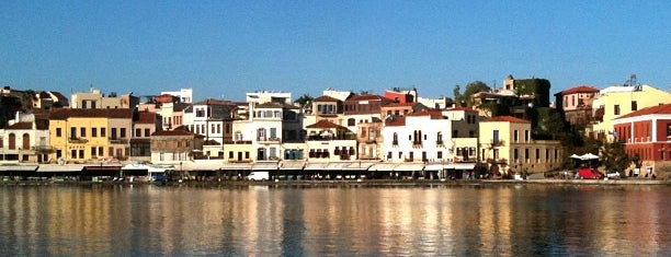 Chania Old Port is one of Creta.